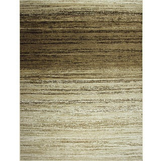 Avante Strictly Linear Beige Rug (9' x 12')