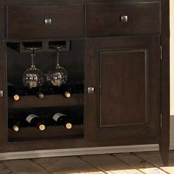 Acton Merlot 3-drawer Wine Rack Dining Storage Server