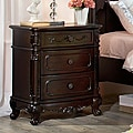 Fairytale Victorian Princess Dark Brown Night Stand (Set of 2)