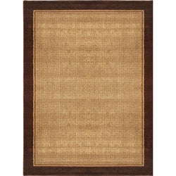 Miranda Contemporary Bordered Rug (7'10 x 10'5)