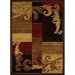 Miranda Multi Floral Contemporary Rug (7'10 x 10'5)