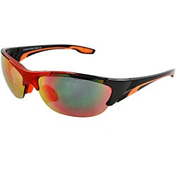 Unisex Fashion Orange/ Black Sunglasses