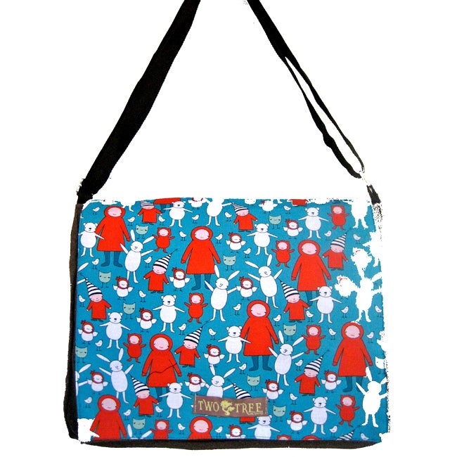 Two Tree Designs 'Little Red Hoodies' Messenger Bag