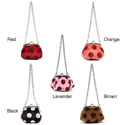 Nicole Lee Hallie Polka Dot Coin Purse