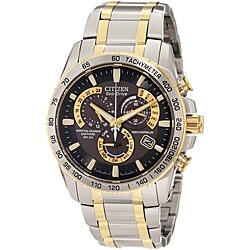 Citizen Men's Eco-Drive Stainless Steel Atomic Timekeeping Watch