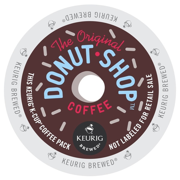 Coffee People Donut Shop Medium Roast K-Cup for Keurig Brewers (48 count)