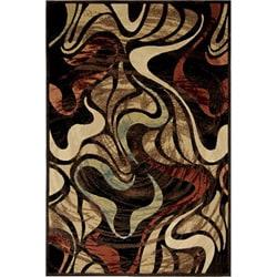 Miranda Contemporary Floral Rug (7'10 x 10'5)