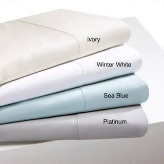 300 Thread Count Liquid Cotton Standard Pillowcases (Set of 2)