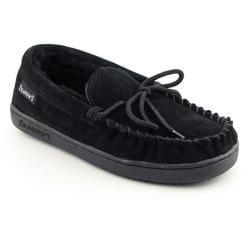Bearpaw Women's Moc II Black Slippers