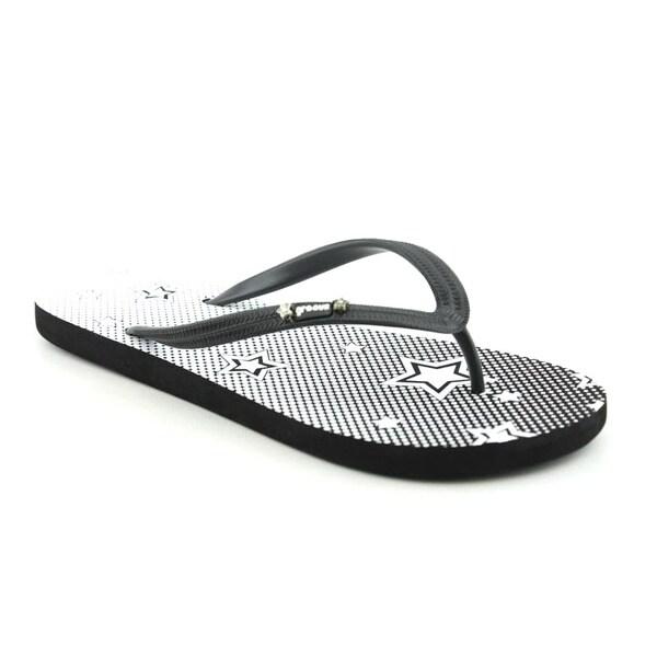 Groove Women's Hand Soff Black Sandals