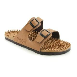 Birki's Women's Super-Noppy Brown Sandals
