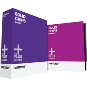 Pantone SOLID CHIPS Coated & Uncoated Reference Printed Manual