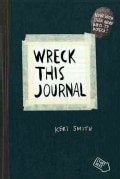 Wreck This Journal: Black (Paperback)
