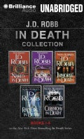 J.D. Robb in Death Collection: Naked in Death, Glory in Death, Immortal in Death, Rapture in Death, Ceremony in Death (CD-Audio)