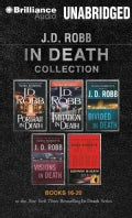 J.D. Robb in Death Collection: Portrait in Death, Imitation in Death, Divided in Death, Visions in Death, Survivor... (CD-Audio)