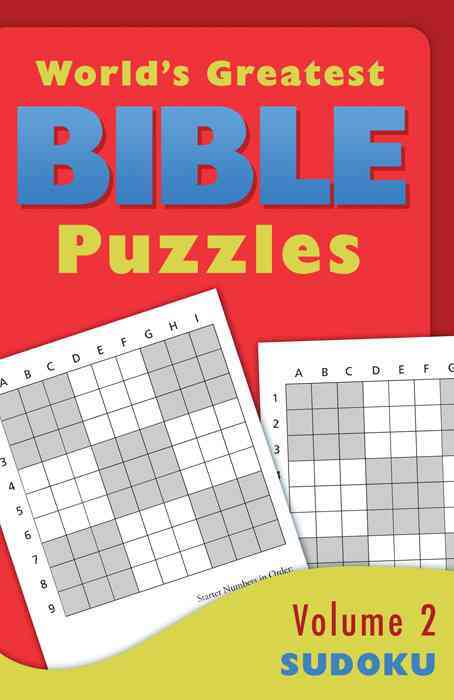 World's Greatest Bible Puzzles: Sudoku (Paperback)
