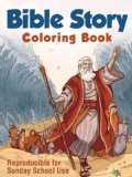 Bible Story Coloring Book (Paperback)