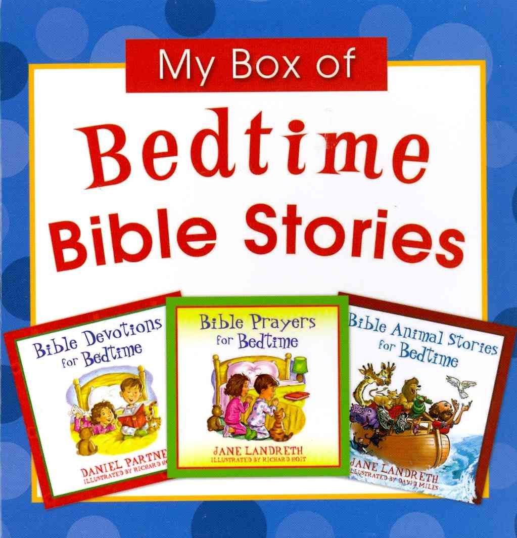 My Box of Bedtime Bible Stories (Paperback)