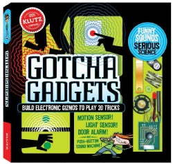 Gotcha Gadgets: Build Electronic Gizmos to Play 20 Tricks (Paperback)