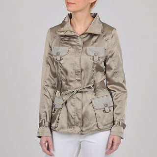 Montanaco Women's Silver Belted Safari Jacket