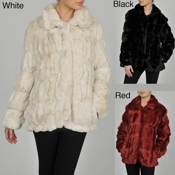 Regent Women's Faux Fur Cuddle Coat