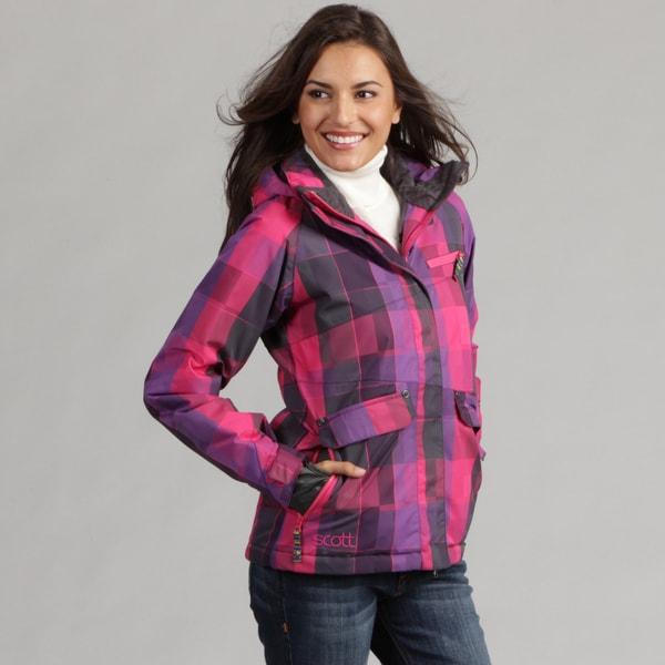 Scott Women's Caprice Plaid Ski Jacket