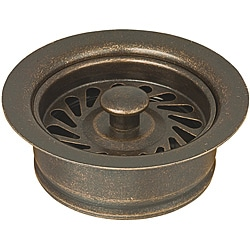 Belle Foret Tumbled Bronze Universal Disposer Flange