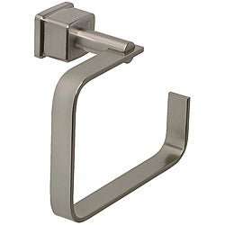 Belle Foret Mainz Satin Nickel Towel Ring