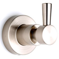 Belle Foret Ulm Satin Nickel Single Robe Hook
