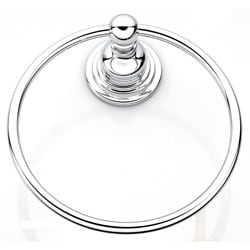 Belle Foret Chrome Towel Ring