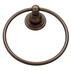 Belle Foret Oil Rubbed Bronze Towel Ring