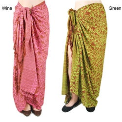 Women's Whimsical Printed Sarong (India)