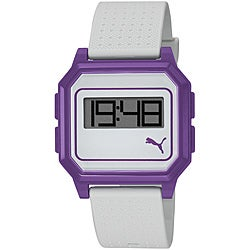 Puma Women's Purple Flat Screen Digital Watch