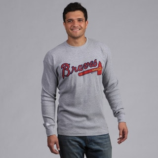 Stitches Men's Atlanta Braves Thermal Shirt
