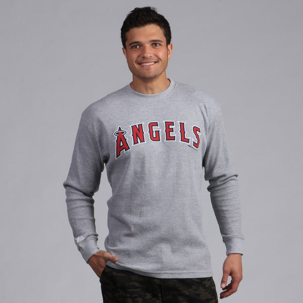 Stitches Men's Anaheim Angels Thermal Shirt