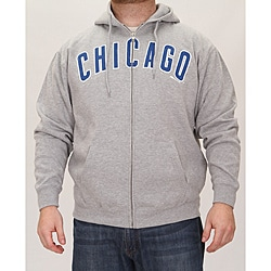 Stitches Men's Chicago Cubs Full Zip Hoodie