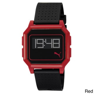 Puma PU910951004 Flat Screen Plastic Digital Watch