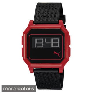 Puma PU910951004 Active Lightweight Flat Screen Plastic Digital Watch
