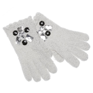 Betsey Johnson Women's Ice Princess Texting Gloves