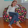 Bubbly Watermelon Cotton Washable Bean Bag Chair