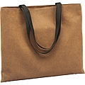 Roberto Amee Brown Ultimate Flocked-vinyl Shoulder Tote Bag