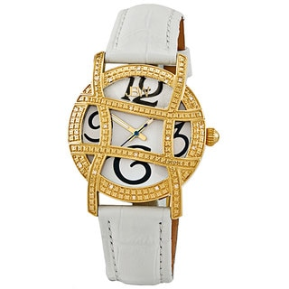 JBW Women's Olympia Gold-Tone Diamond Watch