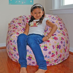 Ahh Products Fairy Land Cotton Washable Bean Bag Chair
