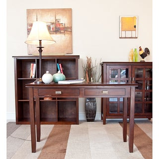 Stratford Auburn Brown Console Sofa Table