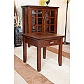 Stratford Auburn Brown End Table