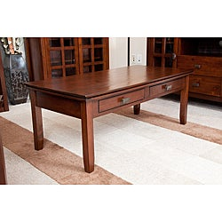 Stratford Auburn Brown Coffee Table