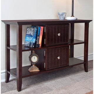 Normandy Tobacco Brown Console Sofa Table