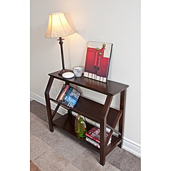 Normandy Tobacco Brown Cross Hatch Bookcase