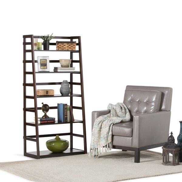 Wyndenhall Normandy Ladder Shelf Bookcase