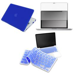 Blue Case/ LCD Protector/ Keyboard Skin for Apple MacBook Pro 13-inch